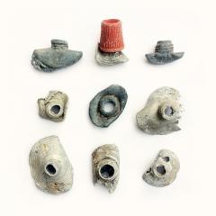 Toothpaste tubes, lead to aluminium, 19th-20th century