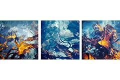 Kelp, triptych