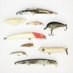 Beachcombed fishing lures